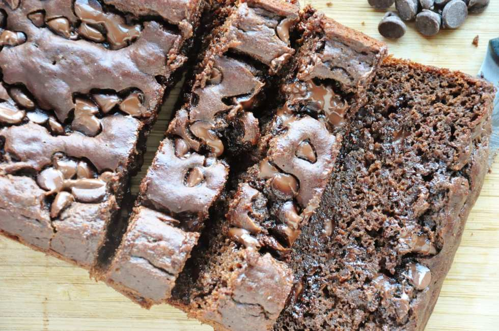 Double Chocolate Banana Bread (4)