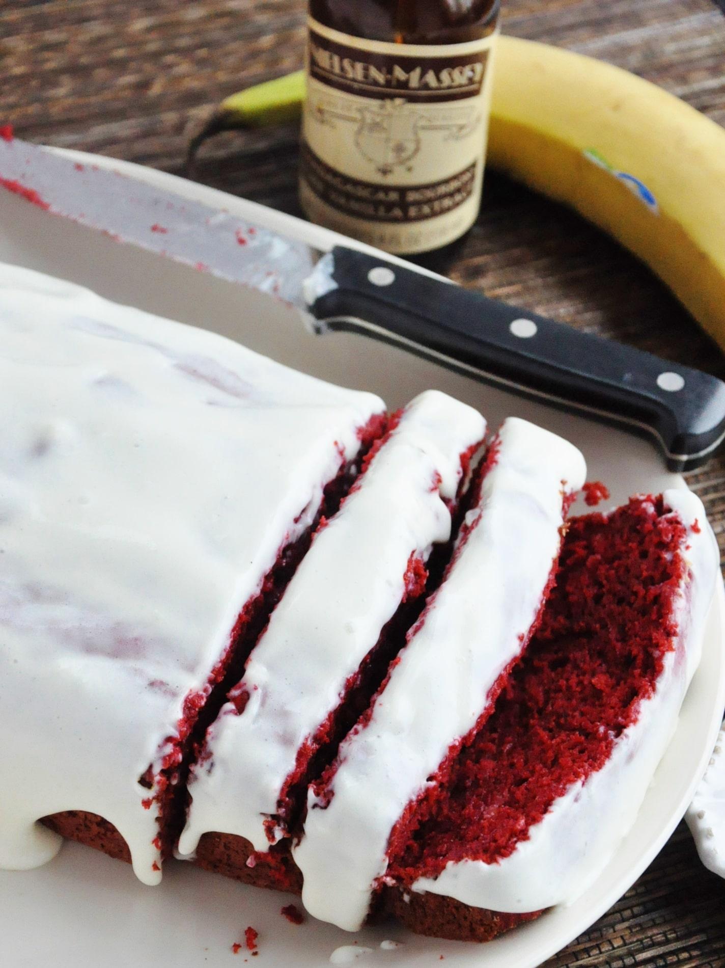 Red Velvet Banana Bread (7)