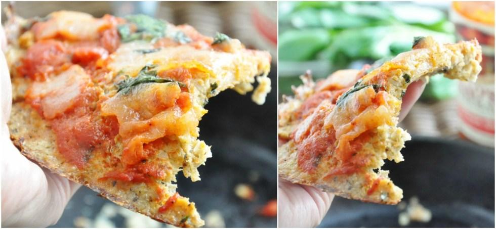 Crispy Cauliflower Pizza