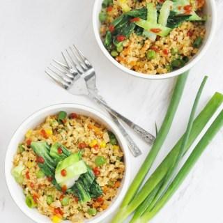Cauliflower Fried Rice - gluten free, dairy free, low carb