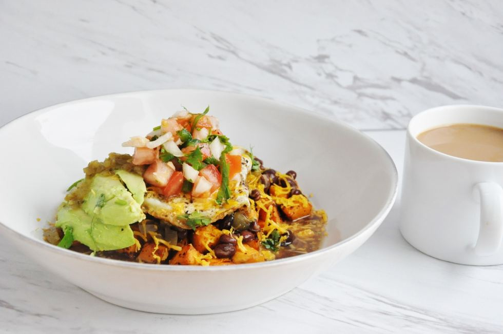 Sweet Potato Huevos Rancheros