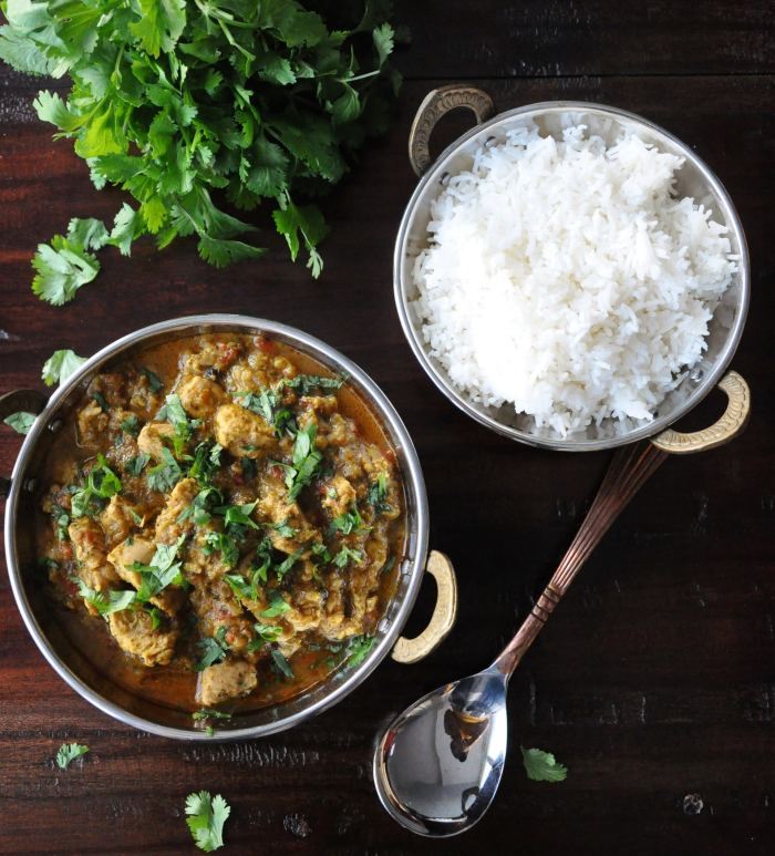 Dhaniya Chicken Curry | Coriander Chicken Curry (healthy, gluten-free)