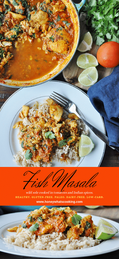 Fish Masala - paleo, healthy, gluten-free, dairy-free