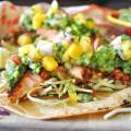 Blackened Salmon Tacos with Mango Salsa