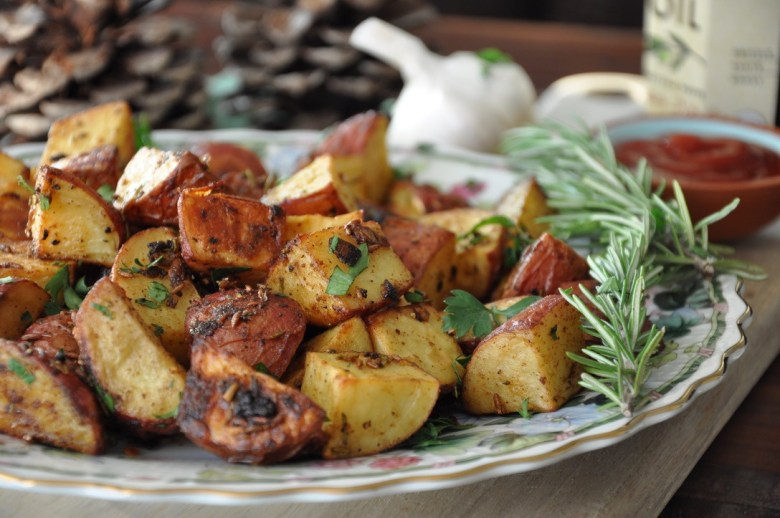 Chatpate Rosemary Roasted Potatoes (vegan, gluten-free)