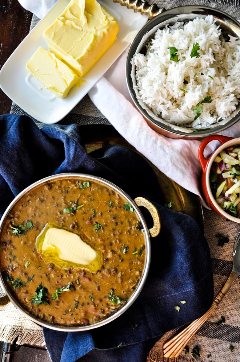 Punjabi Dal Makhani No Cream