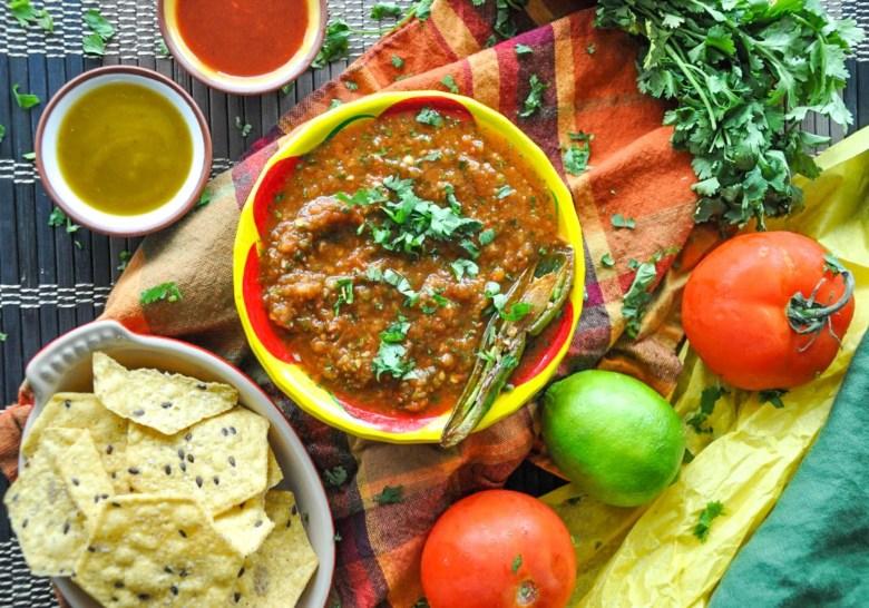 Chipotle Salsa (healthy, vegan, gluten-free)