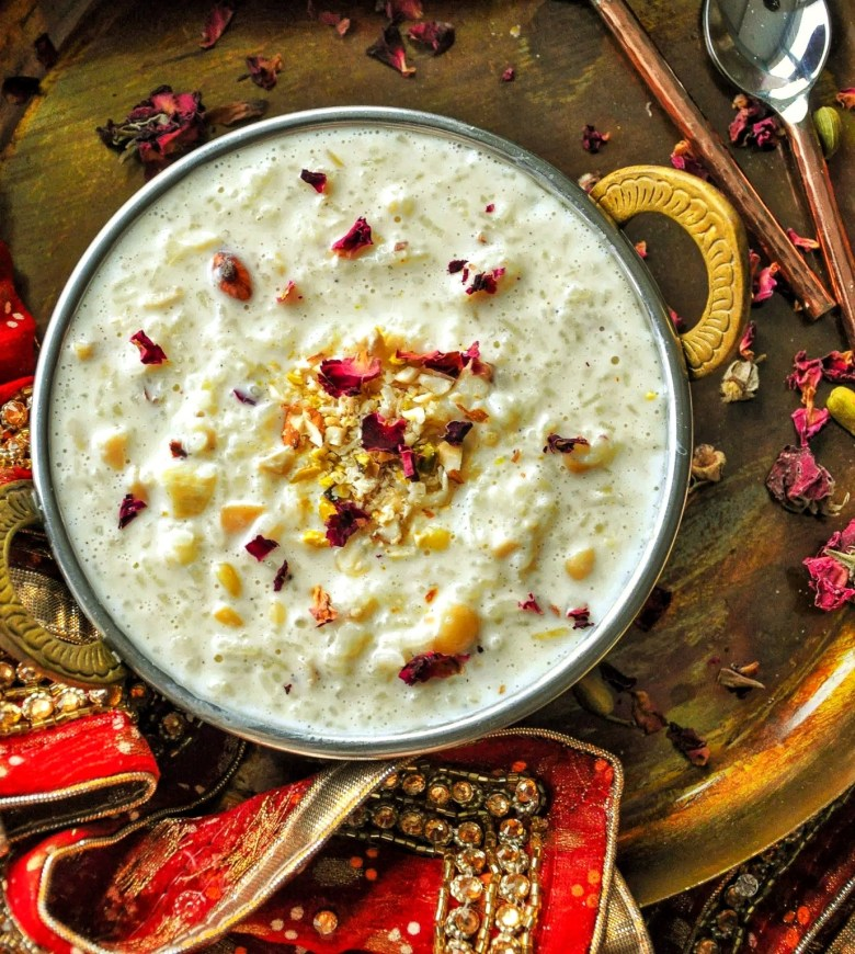 Rice Kheer | Indian Rice Pudding (6 ingredients, gluten ...