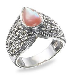 Marcasite jewelry ring HR0191 1