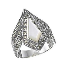 Marcasite jewelry ring HR0197 1