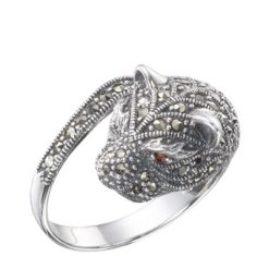 Marcasite jewelry ring HR0223 1