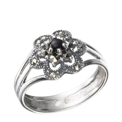 Marcasite jewelry ring HR0319 1