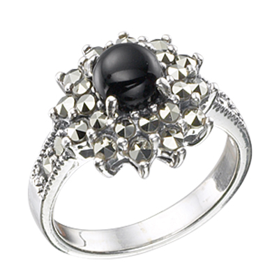Marcasite jewelry ring HR0343 M 1