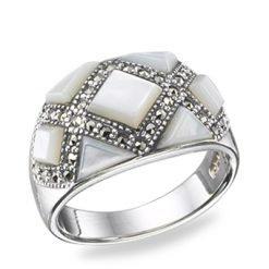 Marcasite jewelry ring HR0355 3