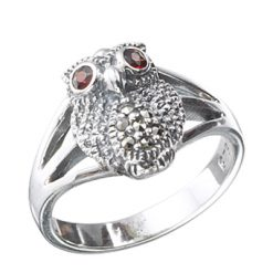 Marcasite jewelry ring HR0382 1
