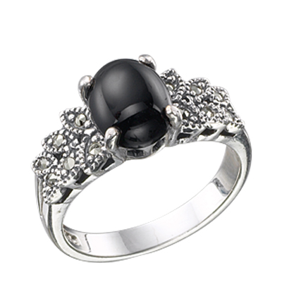 Marcasite jewelry ring HR0440 1