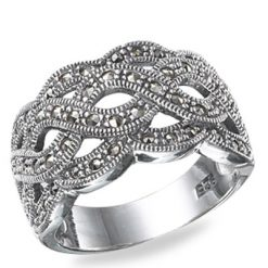 Marcasite jewelry ring HR0524 1