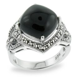 Marcasite jewelry ring HR0709 1