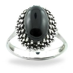 Marcasite jewelry ring HR0736 1