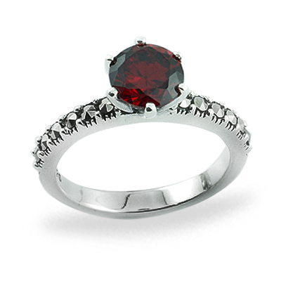 Marcasite jewelry ring HR0791 1