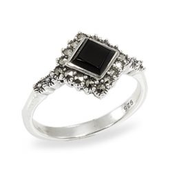 Marcasite jewelry ring HR0921 1