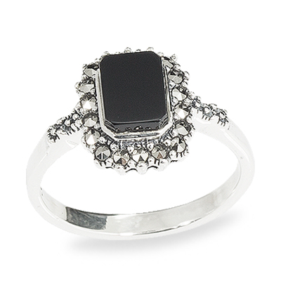 Marcasite jewelry ring HR0948 1