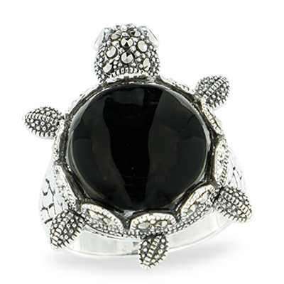 Marcasite jewelry ring HR1150 1