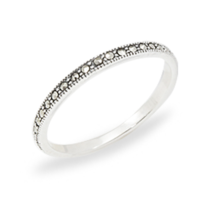 Marcasite jewelry ring HR1205 1