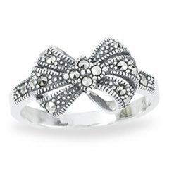 Marcasite jewelry ring HR1254 1