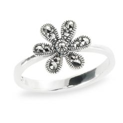 Marcasite jewelry ring HR1308 1