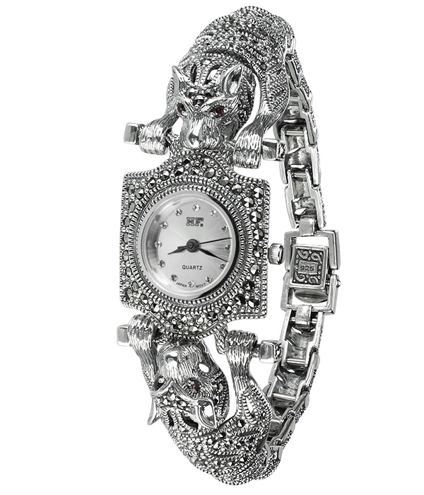 Hottest 10 Marcasite Watches-HW008 1