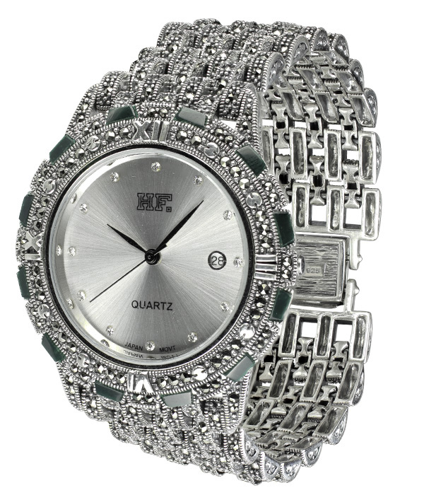 Hottest 10 Marcasite Watches-HW151 1