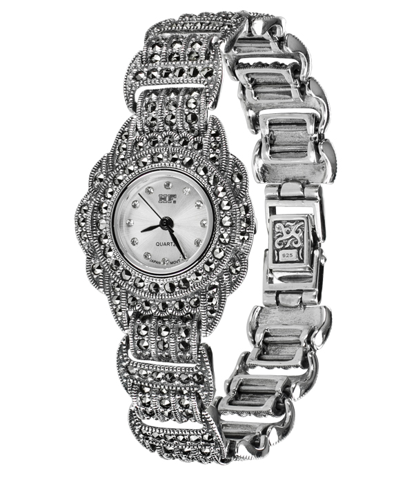 Hottest 10 Marcasite Watches HW002