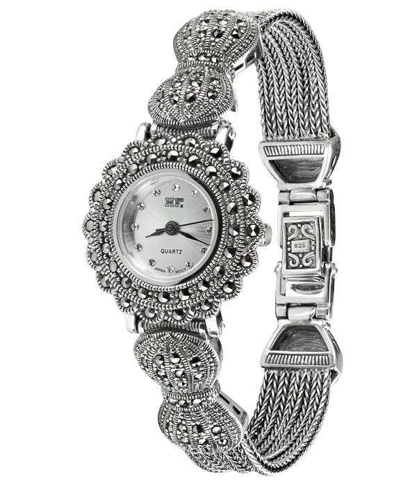 Hottest 10 Marcasite Watches HW021