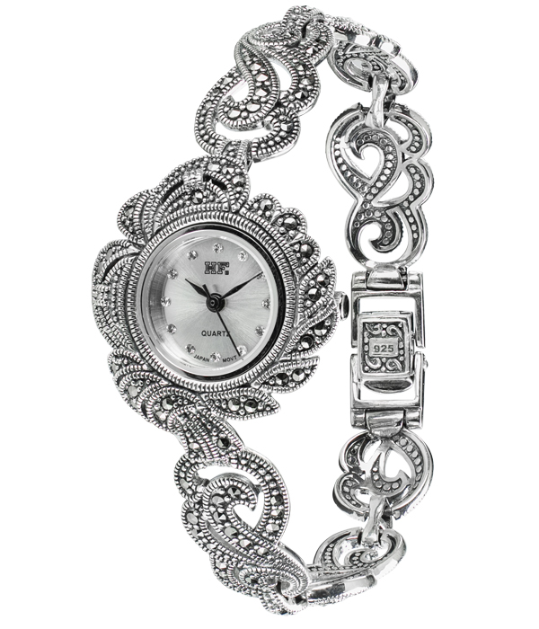 Hottest 10 Marcasite Watches HW079