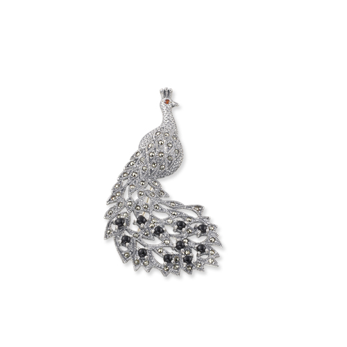 marcasite brooch HB0023 1