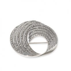 marcasite brooch HB0033 BIG 1