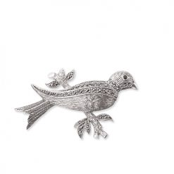 marcasite brooch HB0134 1