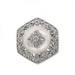 marcasite brooch HB0287 1