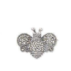marcasite brooch HB0317 1