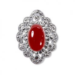 marcasite brooch HB0534 1