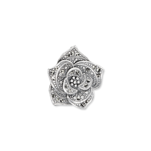 marcasite brooch HB0543 1