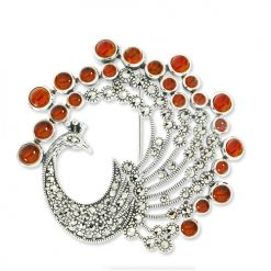 marcasite brooch HB0626 1
