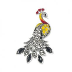 marcasite brooch HB0637 ON 1