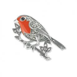 marcasite brooch HB0644 1