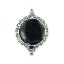 marcasite brooch HB0674 1