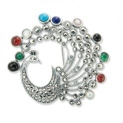 marcasite brooch HB0676 1