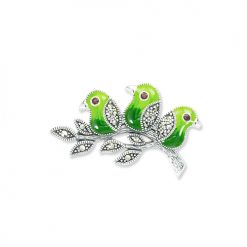 marcasite brooch HB0699 1 1