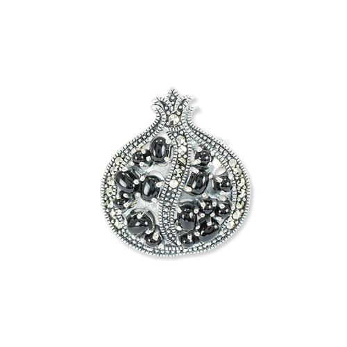 marcasite brooch HB0740 1