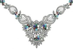 Marcasite necklace NE0474 1